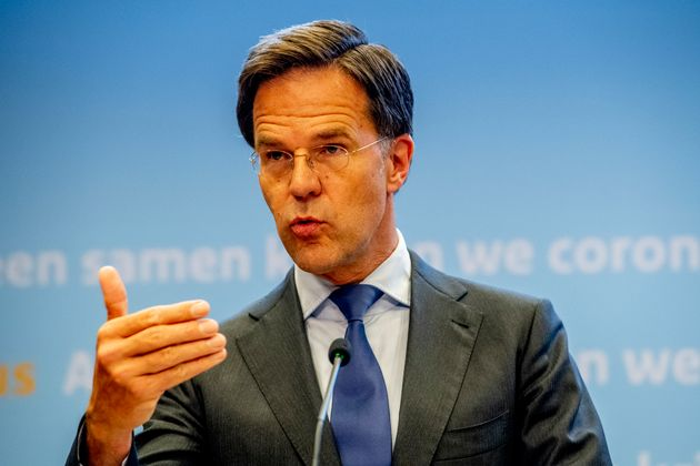 THE HAGUE, NETHERLANDS - 2020/06/24: Dutch Prime Minister Mark Rutte speaks during a press conference...