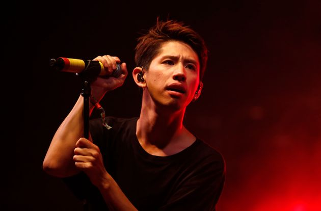 READING, ENGLAND - AUGUST 26: Takahiro Moriuchi of One OK Rock performs at Reading Festival at Richfield...