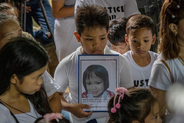 3歳だったキャサリン・マイカ・ウルピナさんは2019年6月、父親を標的にした警察の捜査で撃たれて亡くなった