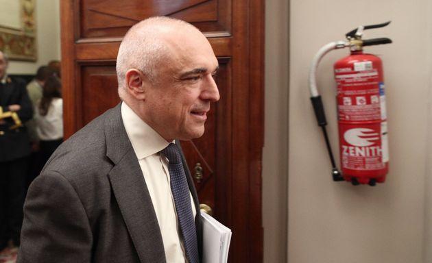 Rafael Simancas, en el Congreso el 15 de enero de 2020 (Eduardo Parra/Europa Press via Getty