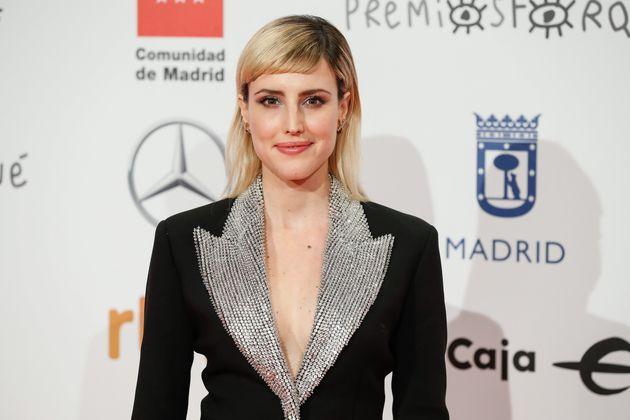 La actriz Natalia de