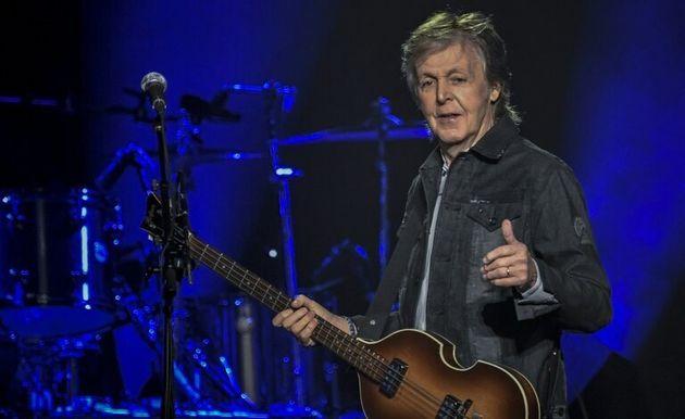 Paul McCartney en concert à La Défense Arena de Nanterre, le 28 novembre
