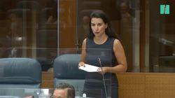 Rocío Monasterio felicita al PSOE por reconocer que