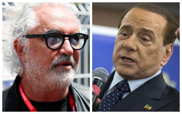 """Briatore difende Berlusconi: """"Gli hanno rovinato la vita e c"""