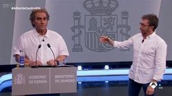Carlos Latre se pronuncia tras las críticas por imitar a Fernando Simón: