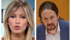 Echenique carga contra Susanna Griso por lo que ha dicho sobre Pablo Iglesias: