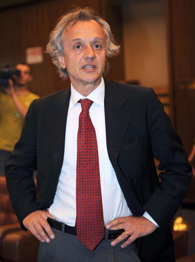 Antonio Pilati, componente dell'Autorita' Garante della Concorrenza e del Mercato, in una foto d'archivio...