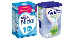 Des huiles minérales dans du lait en poudre pour bébé, Foodwatch demande le retrait de deux
