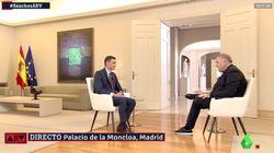 El fallo en la entrevista de Ferreras a Pedro Sánchez: un minuto han tardado las quejas en