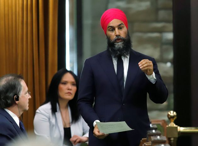Even Jagmeet Singh, a party leader, must contend with white