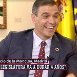 La pregunta de Ferreras a Sánchez sobre Podemos que ha provocado la risa del