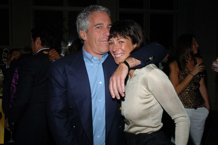 Jeffrey Epstein and Ghislaine Maxwell in 2005. Maxwell has previously denied allegations of having a role in Epstein&rsq