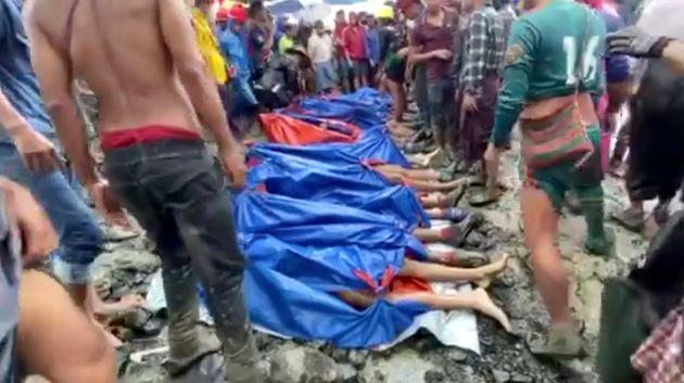 Μιανμάρ: Βίντεο – σοκ! «Τσουνάμι» λάσπης σκέπασε ορυχείο θάβοντας εκατοντάδες εργάτες