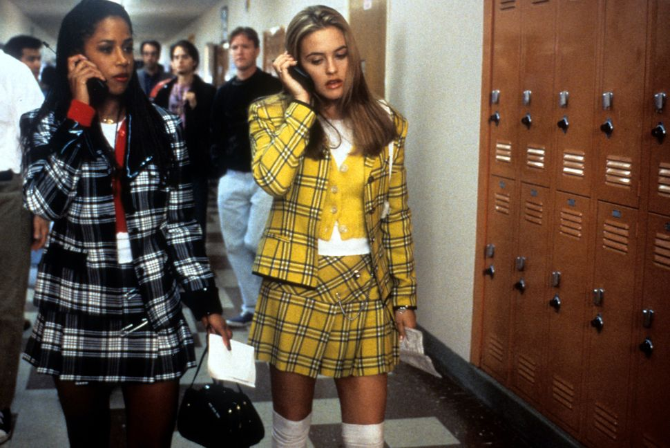 "The iconic costumes for Stacey Dash (left) and Alicia Silverstone in ""Clueless"" were designed by Mona May, whose other credit"