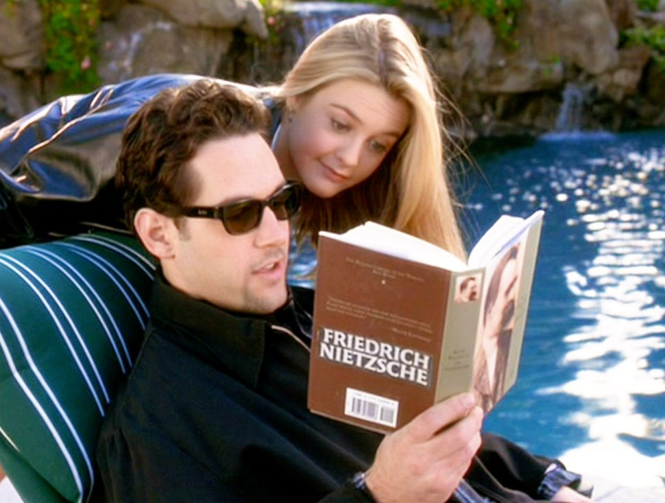 "Paul Rudd, seen here with Silverstone, had a recurring role on the NBC series ""Sisters,"" but ""Clueless"" was his debut movie."