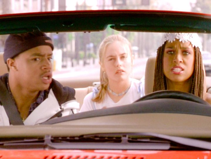 """Donald Faison, seen here with Silverstone and Dash, went on to success on TV series such as """"Felicity,"""" """"Scrubs"""" and """"The Exes."""""""