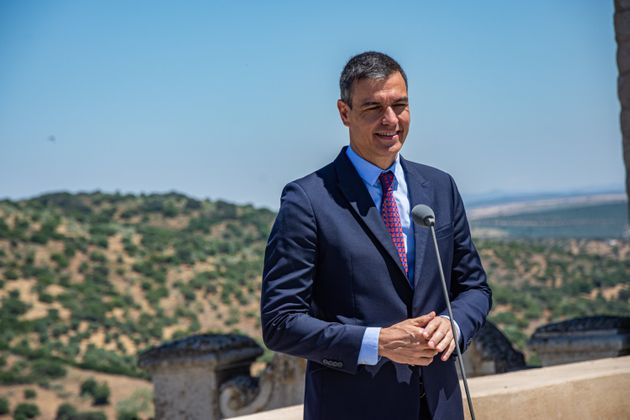 El presidente del Gobierno, Pedro