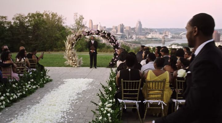 "The opening scene from ""Say I Do."""