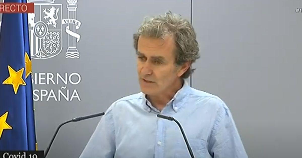 Fernando Simón admite que hay algo que le llama la atención en los casos de Madrid