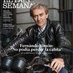 Fernando Simón explica su comentada foto de la portada de 'El País