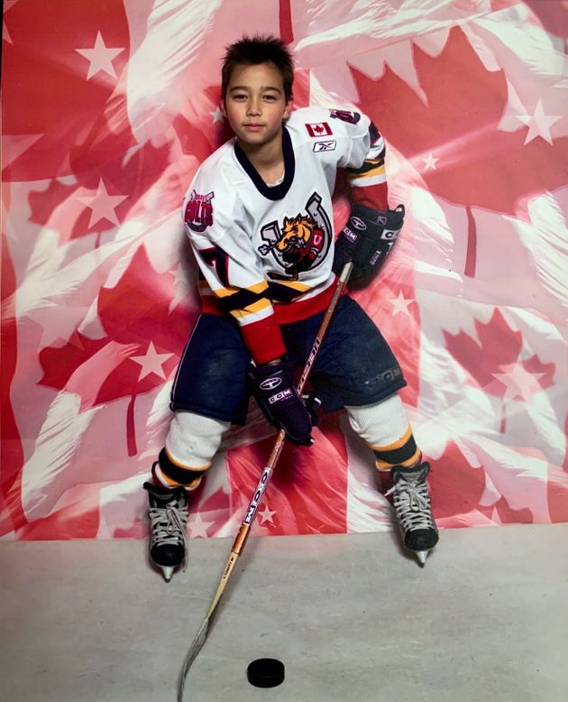 One of the first competitive teams I played for was the Barrie Jr.