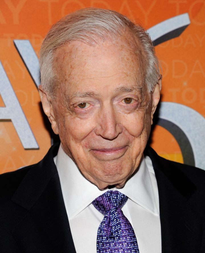 "Hugh Downs attends the ""Today"" show 60th anniversary celebration at the Edison Ballroom on Thursday, Jan. 12, 2012 in New Yor"