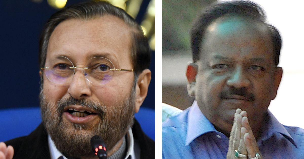 Exclusive: Documents Show How Javadekar And Harsh Vardhan Diluted India's Green Law