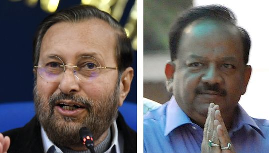 Exclusive: Documents Show How Javadekar And Harsh Vardhan Diluted India's Green