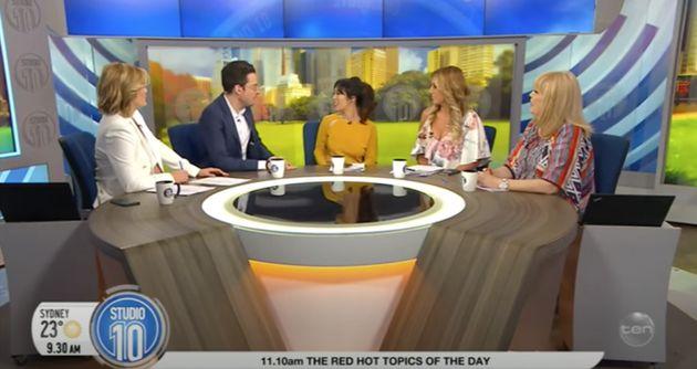 'MasterChef Australia: Back To Win' judge Melissa Leong on Studio 10 in
