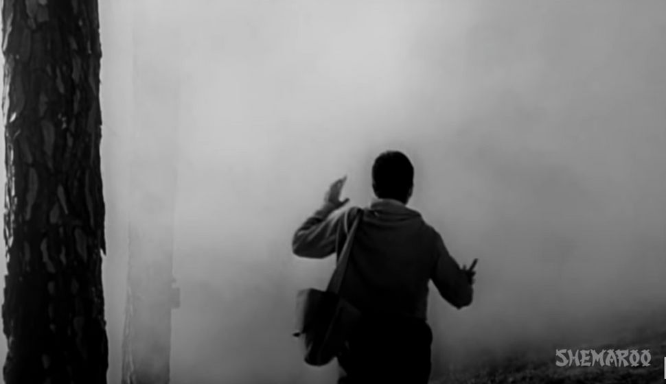 Dilip Kumar in a still from 'Madhumati'