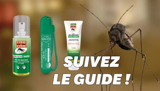 Crème, roller, spray: quel anti-moustique choisir