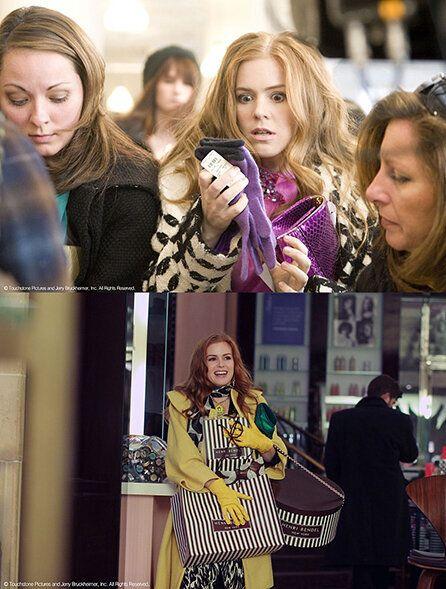 '쓰는 게 제일 좋아!', 영화 쇼퍼홀릭 속 주인공 '레베카'. 물건을 사며 행복과 만족감을 느끼는 쇼핑 중독자로