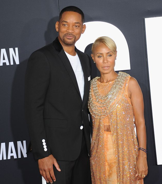 Will Smith and Jada Pinkett Smith at the premiere of Gemini
