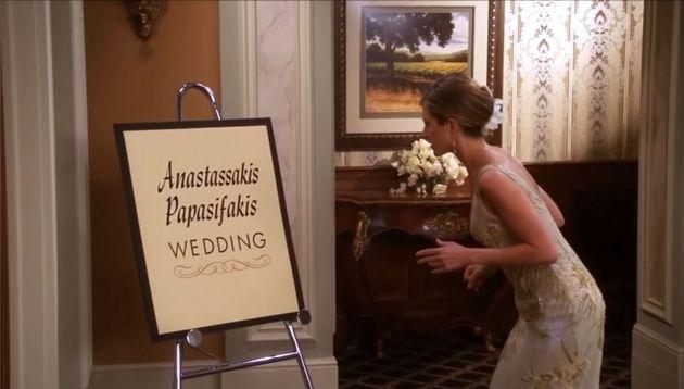 «Φιλαράκια»: Η απίθανη σύμπτωση στο επεισόδιο του γάμου της Μόνικα με τον