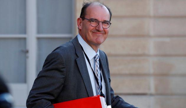 Jean Castex, ici à l'Élysée, a été nommé Premier ministre en...