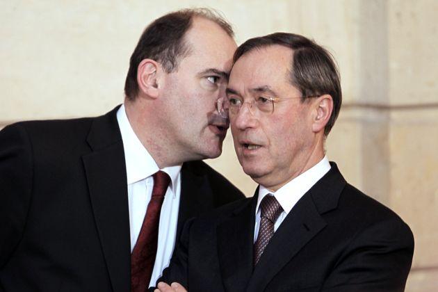 Jean Castex, ici avec Claude Guéant en 2011 quand ils oeuvraient au secrétariat général...