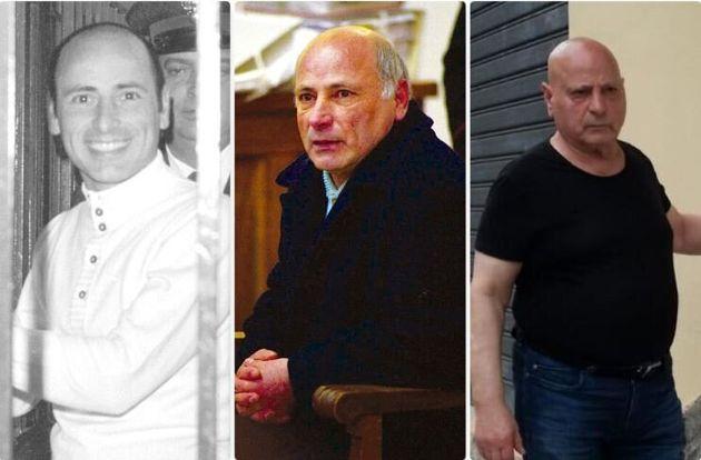 Graziano Mesina in varie fasi della sua vita (archivio