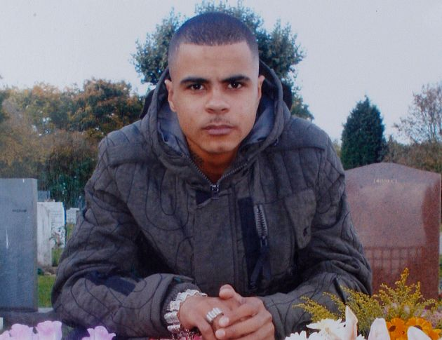 A Handout photo from the family of Mark Duggan the man shot dead by police in Tottenham Hale