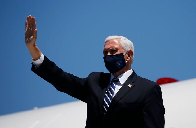 Vice President Mike Pence arrives in Phoenix to meet with Arizona Gov. Doug Ducey on Wednesday. His trip...