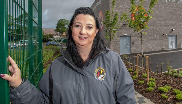 Dani Worthington, headteacher at Moorside Community Primary School in Ovenden, near Halifax, West