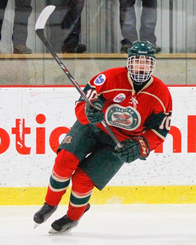 The writer played AAA for the Eastern Ontario Wild for four years before quitting minor