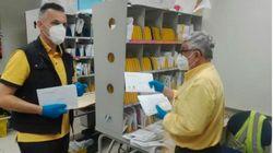 El miedo al contagio dispara el voto por correo en el País Vasco y
