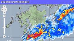 熊本で13人不明 土砂崩れや冠水で孤立状態も