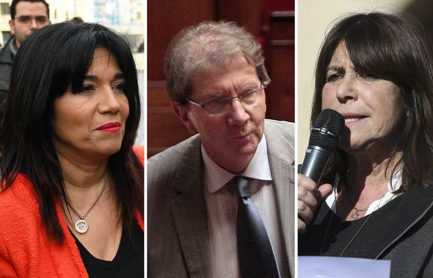 Samia Ghali, Guy Teissier et Michèle Rubirola, trois protagonistes pour l'élection du maire...