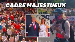 Donald Trump fête le 4 juillet au Mont Rushmore sous les