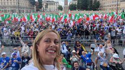 Centrodestra di nuovo in piazza a Roma per dire 'no' al governo