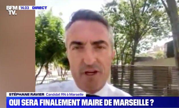 Candidat du Rassemblement national aux municipales à Marseille, Stéphane Ravier a appelé à la tenue de...