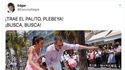 Aluvión de memes en Twitter con estas fotos de Felipe y Letizia en
