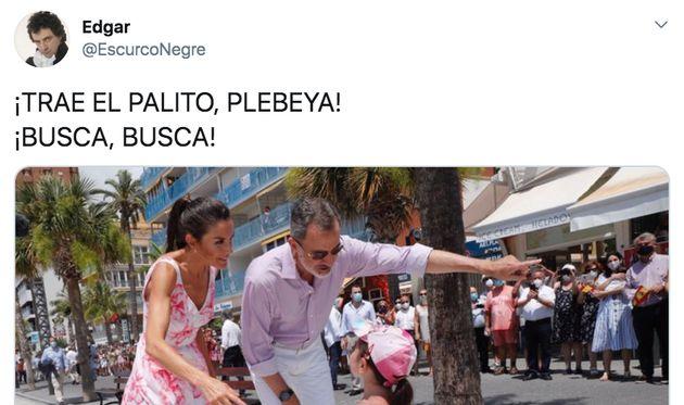 Twitter se llena de memes con las fotos de los reyes Felipe y Letizia en