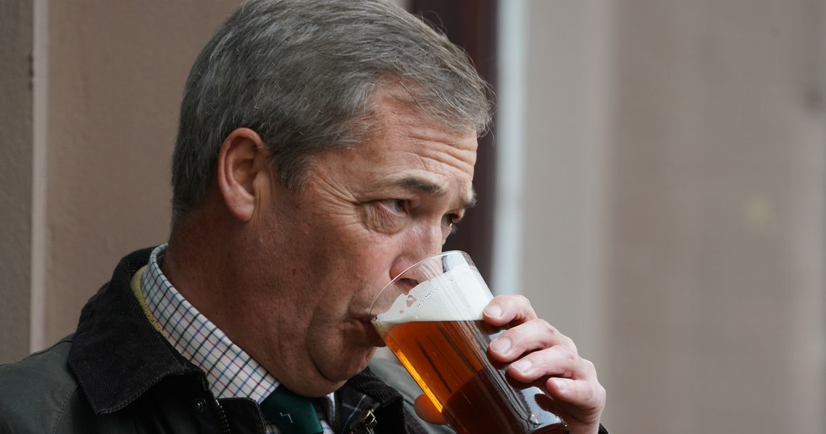 Nigel Farage Says He's 'First In' To Pub, Just Two Weeks After Attending Trump's Tulsa Rally